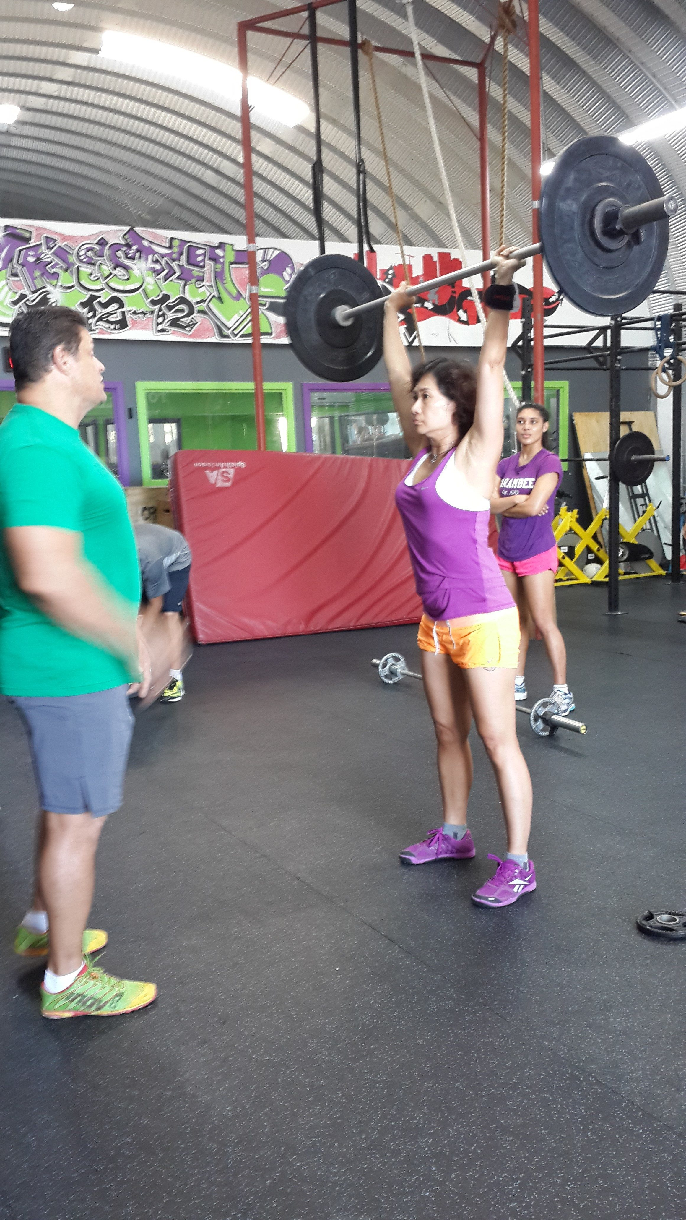 Tham Press after the thruster