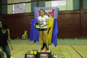 Alexis Ince, top female teen athlete